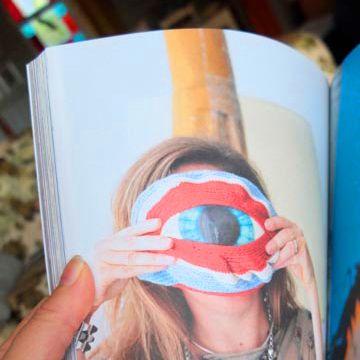 Cute portrait idea in Dumbo Feather magazine. Omeo, Easter 2014.