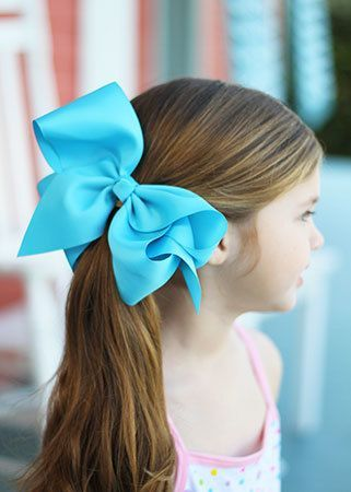 "You loved our classic oversized bows and wanted something even bigger! Now these bows are oversized, seriously! Our Texas sized bows are made of 3 "" ribbon for an extra large hair bow!"