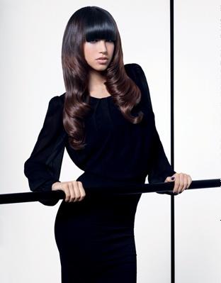 gorgeous polished brunette