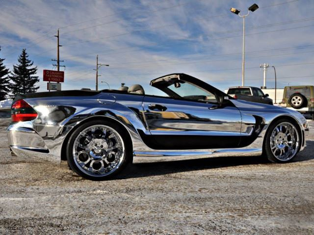 Kleeman Mercedes SL55 AMG 'Will Make you Shit Your Pants'