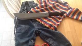 Go to http://halloweencostumestore.net/go tor your Halloween costumes. How To Make A Chucky Halloween Costume For a Toddler