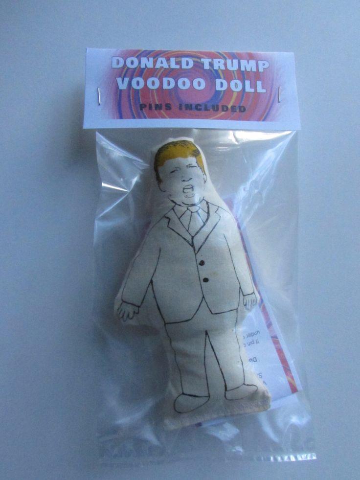 Donald Trump Voodoo Doll, Donald Trump, Voodoo Doll, #nevertrump, #dumptrump, funny, politics, Republican, GOP, voodoo, doll, celebrity by DonaldTrumpVoodoo on Etsy https://www.etsy.com/listing/462019607/donald-trump-voodoo-doll-donald-trump
