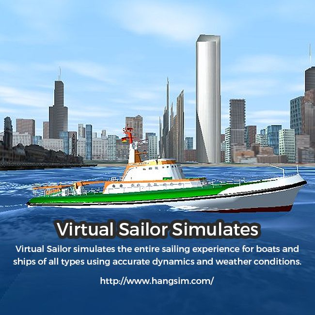 Now simulate the entire sailing experience for boats and ships with Virtual Sailor of Hang Sim! Virtual Sailor promises high-end features including accurate wave dynamics above sea and below, accurate sailboat and motorboat dynamics, accurate and dynamic sailing sounds, Diverse and adjustable marine life and much more. For details, please visit the website.   http://www.hangsim.com