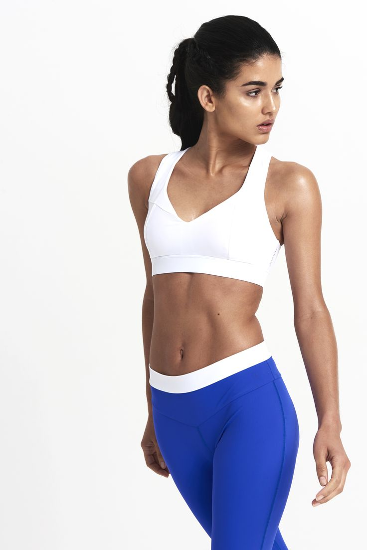 Adrenna's must-have cross-discipline sports bra with a neckline flattering to all body shapes.  The super smooth fabric and clean lines are made to be seen in. Made with ultra light weight, all-round sculpting and compression fabric, for superior sweat wicking performance and the right lift and hold. From £94.