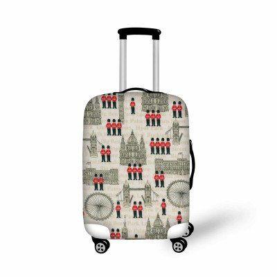 Fashion Luggage Cover British Girl - FREE SHIPPING!