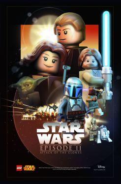 Des affiches LEGO Star Wars disponibles dans la boutique en ligne à partir du 4…