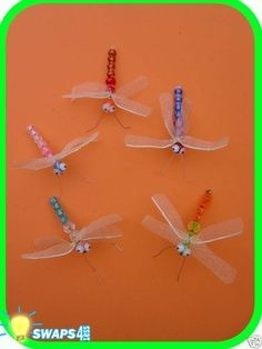 DRAGONFLY Campfire Swaps   Girl Scout Swaps