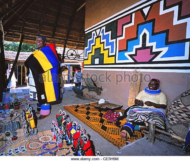 Ndebele Tribe Stockfotos und Ndebele Tribe Stockbilder - Alamy