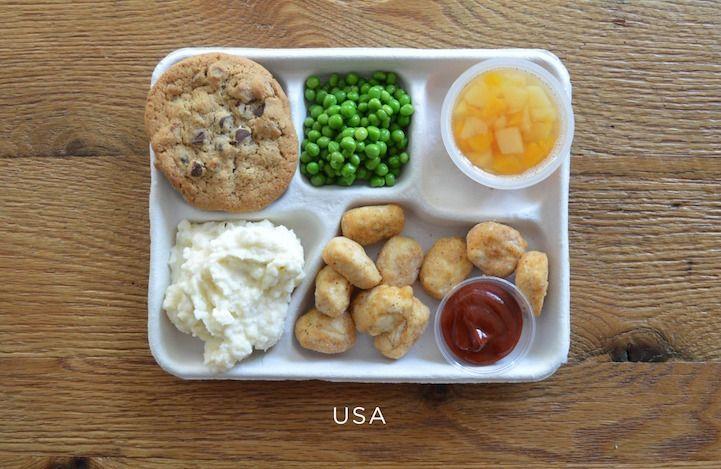 Almoços no Mundo USA