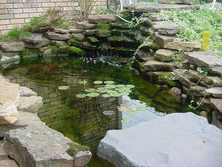 17 best ideas about backyard walkway on pinterest for Small pond landscaping ideas