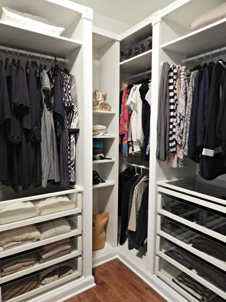 Revamping my Closet with the IKEA Pax Wardrobe Corner