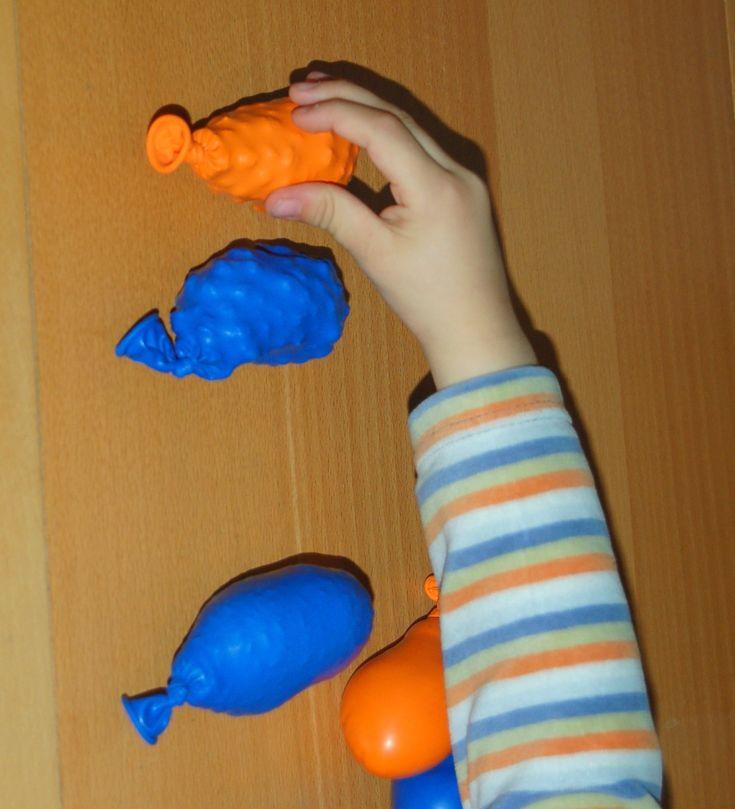 I palloncini sensoriali: schiaccia e riconosci!