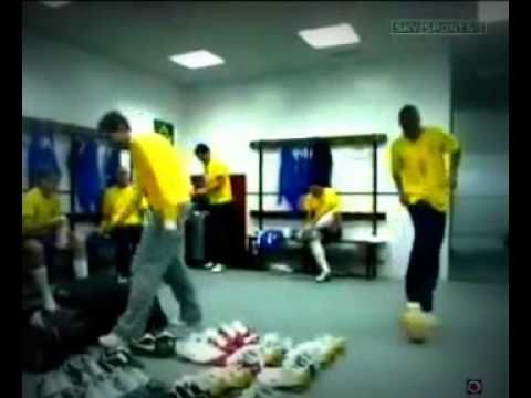 funny football - Brazilian Nike Commercial Brazil Soccer Team FIFA