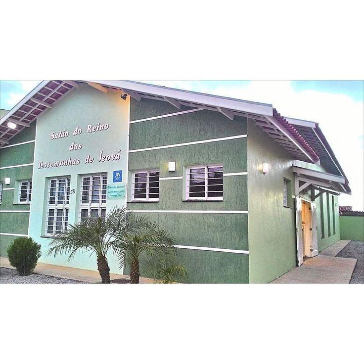 Kingdom Hall in Alagoas Brazil. Photo shared by @pollyanasthephanie