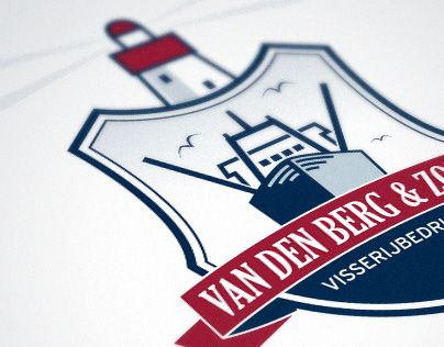 Logo Design for fishery company in the Netherlands.