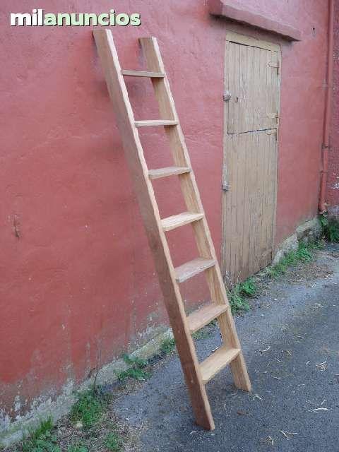 M s de 25 ideas incre bles sobre escalera de mano de for Escalera madera decoracion
