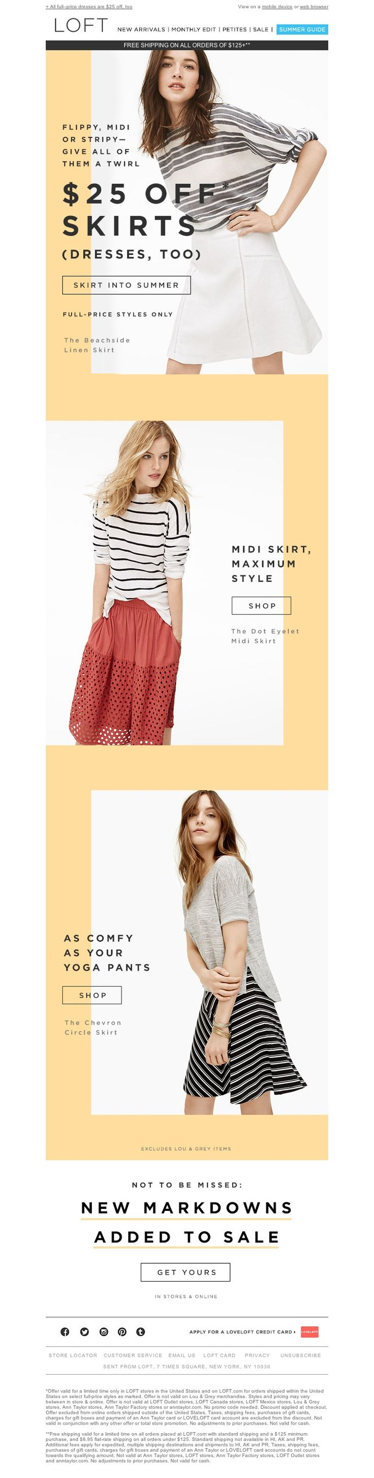 LOFT - We ♥ skirts. How 'bout you?