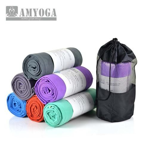 Amyoga Microfiber Double Layer Yoga Towel