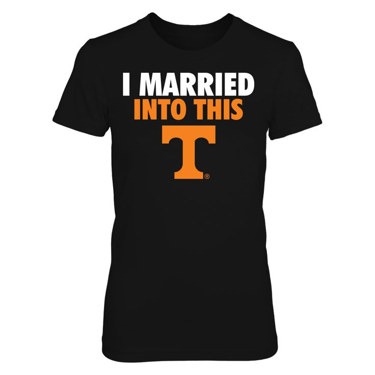 I Married Into This Tennessee Volunteers T Shirt - Officially Licensed University of Tennessee Apparel - Check out men's and women's Tennessee Vols clothing including t shirts, hoodies, tanks, and other accessories like cell phone cases and coffee mugs. They make great gifts for University of Tennessee Volunteers football, basketball, baseball and other sports fans.
