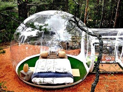 Now You Can Live In Your Very Own Bubble French Hotel Offers Its Guests Lodging