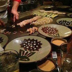Benihana Copycat Recipes: Hibachi Shrimp.   Made 11-2016.   Make sure shrimp are thawed and dry so they get seared.