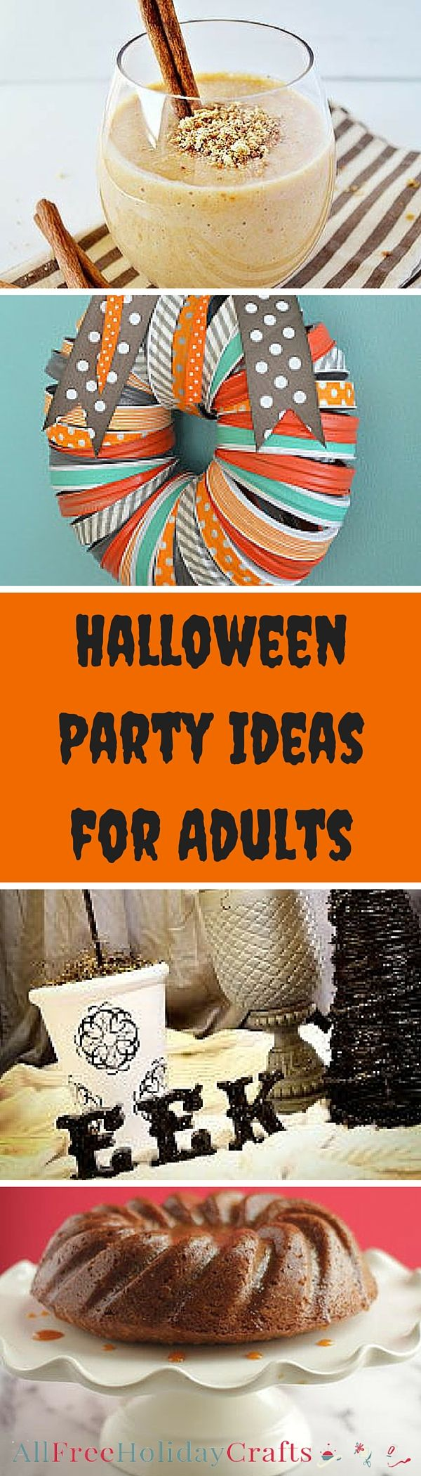 You have outgrown trick-or-treating, but that doesn't mean you can't celebrate Halloween right! With our collection of 45 Halloween Party Ideas for Adults, you can have a lot of fun on All Hallow's Eve. Whether you dress up or not, you can still be creatures of night and party at the witching hour with your friends. With these adult Halloween party ideas, you will be doing the monster mash all night with delicious food and awesome Halloween party decorations.