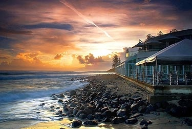 Burleigh Heads, Australia - 5 minutes from my new home!