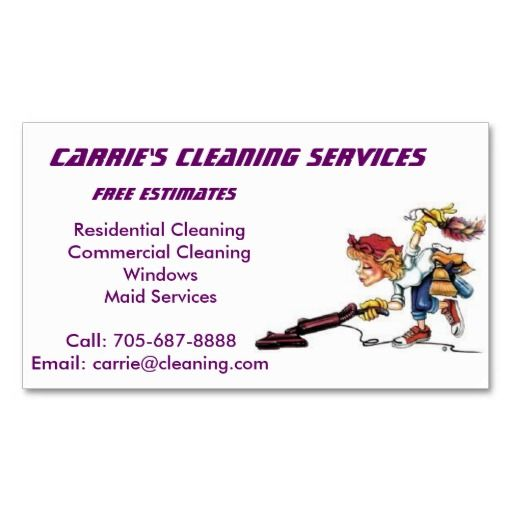 198 best images about maid services business cards on for Business cards for cleaning services
