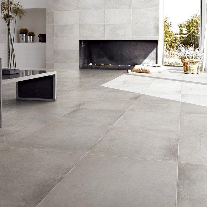 Varese 24 X 24 Porcelain Field Tile Modern Floor Tiles Tile Floor Living Room Living Room Tiles