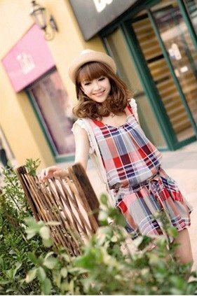 Baju Import Dress DS3123-AS