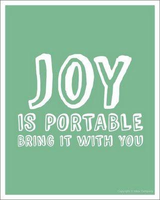Joy #quote #inspiration