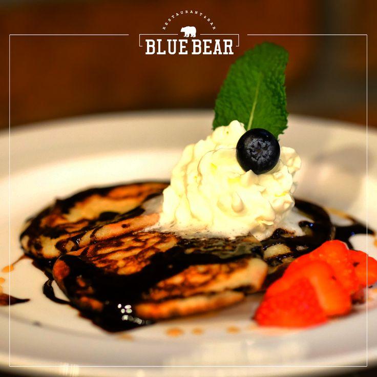 Pancakes,vložky, párky alebo bacon and eggs? V Blue Bear zažijete Ameriku aj ráno!