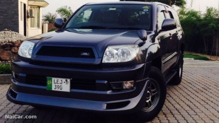 Toyota Hilux 2004 for Sale in Lahore, Pakistan  Toyota Surf 2004 fully loaded for sale
