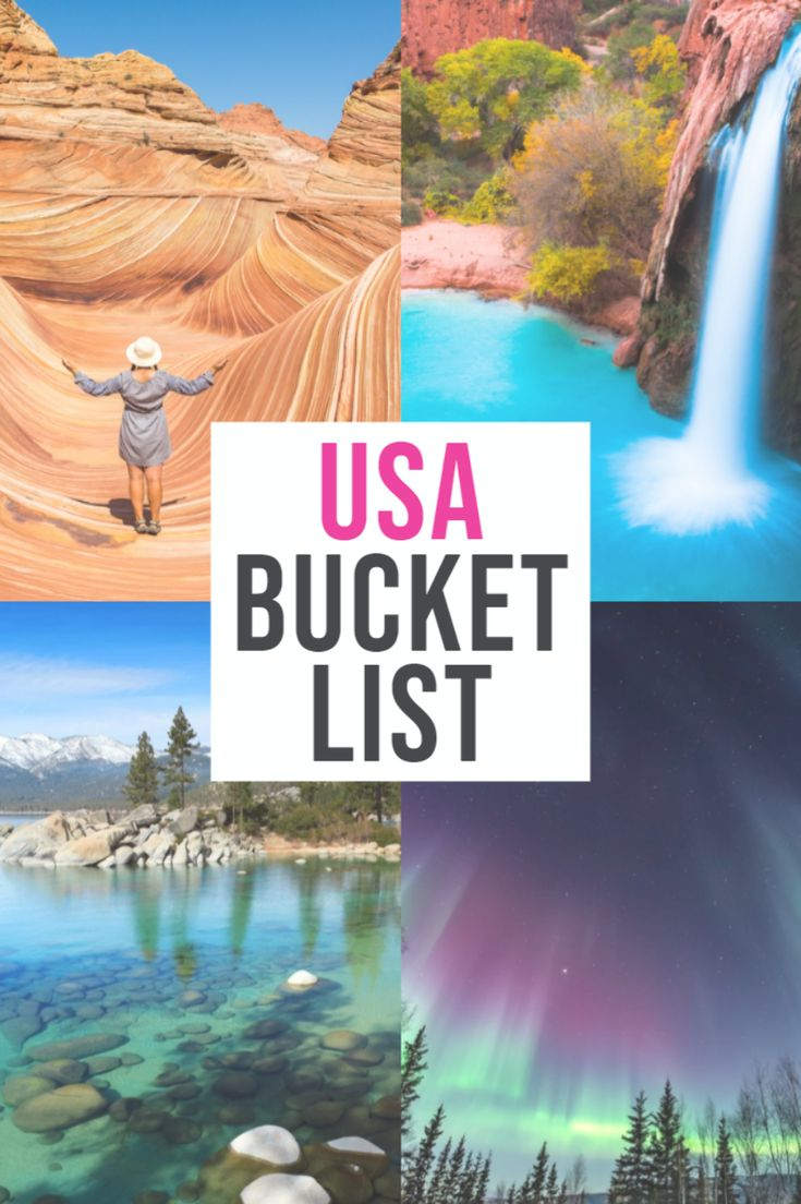 Looking for the BEST USA bucket list destinations? This