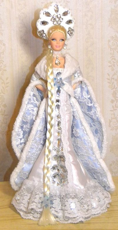 Lovely Ice Queen! Tonner OOAK Barbie doll