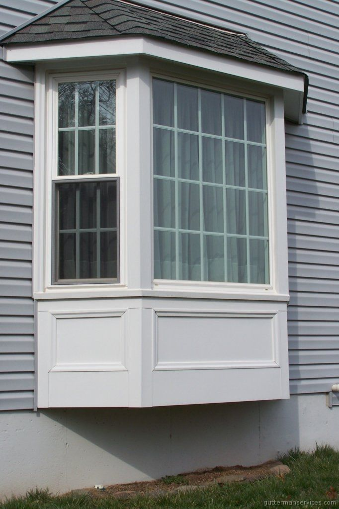 25 best ideas about bay window exterior on pinterest a for Vinyl bay window