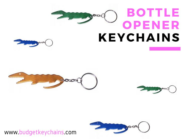 Imprint your business logo on Custom Bottle Opener Keychains. Get lowest price guarantee now!  #Imprinted #logo #BottleOpenerKeychains