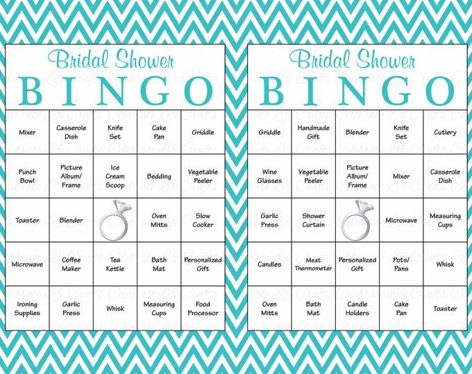 The  Best Bridal Bingo Ideas On   Bridal Shower Bingo