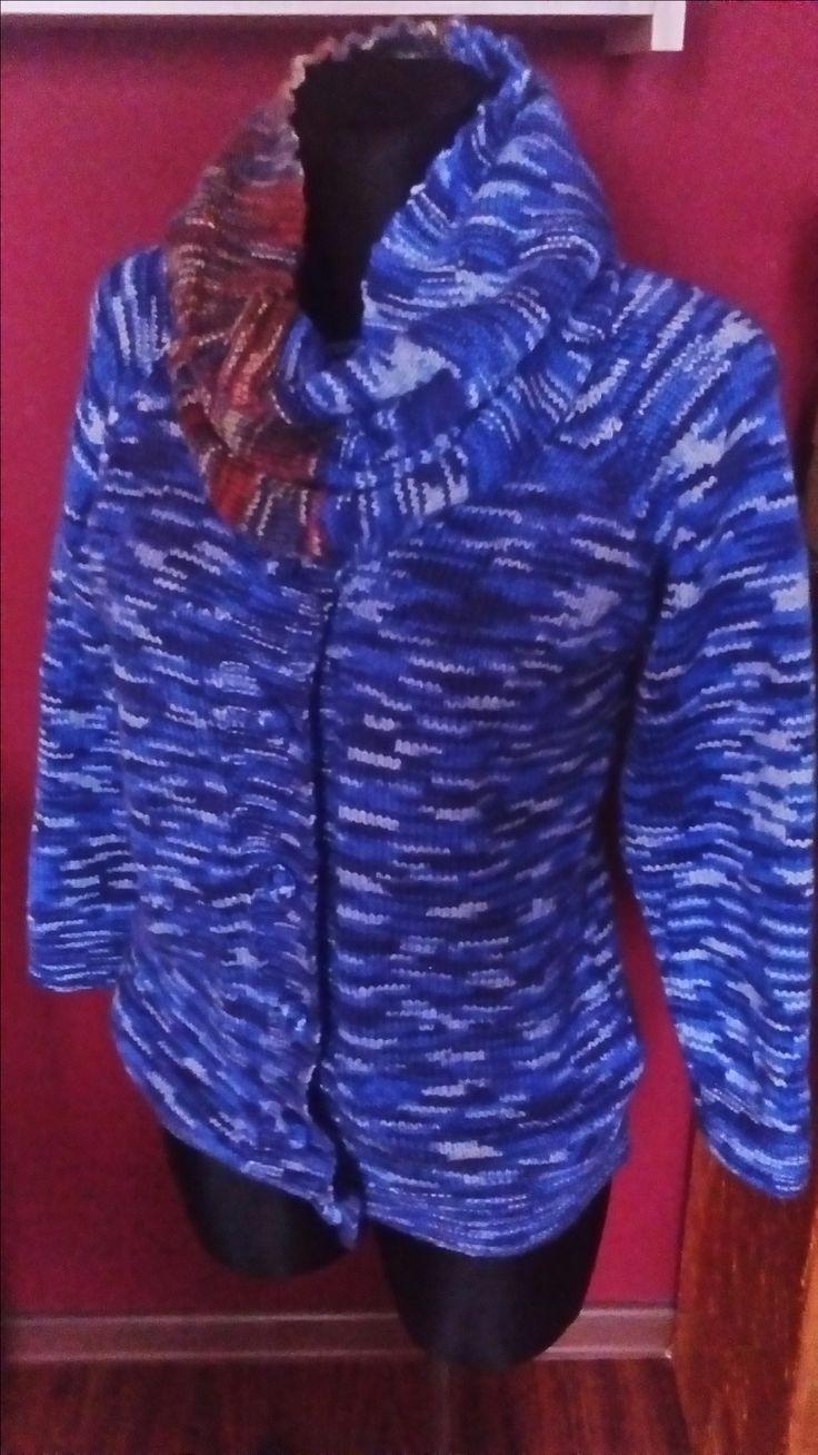 sweterek z ''kominem''autorstwa Anna Borowczyk