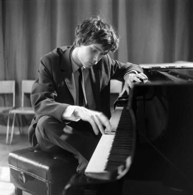 Kocsis Zoltán zongoraművész.