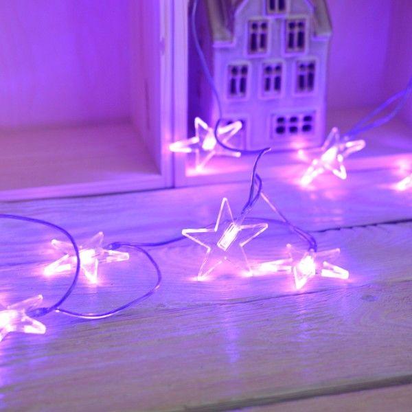 Girlanda świąteczna choinkowa gwiazdki LED| Sklep | ReBelle