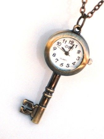 Who knows what it may unlock...    This vintage style Steampunk Pocket Watch is a fun piece and great for gift giving.    This great skeleton