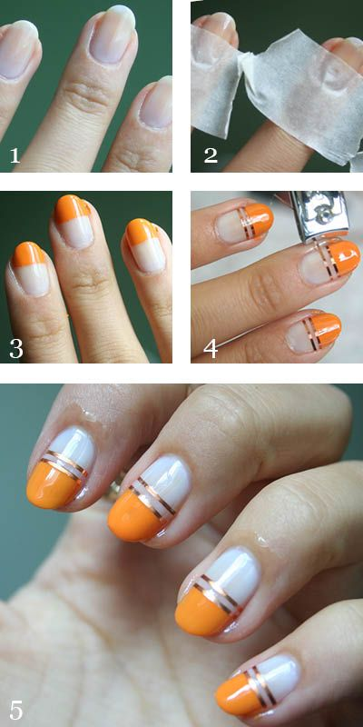 Manicure Monday Striping Tape Nail Art Guest Post ~ Makeup and Beauty Blog - A Little Obsessed