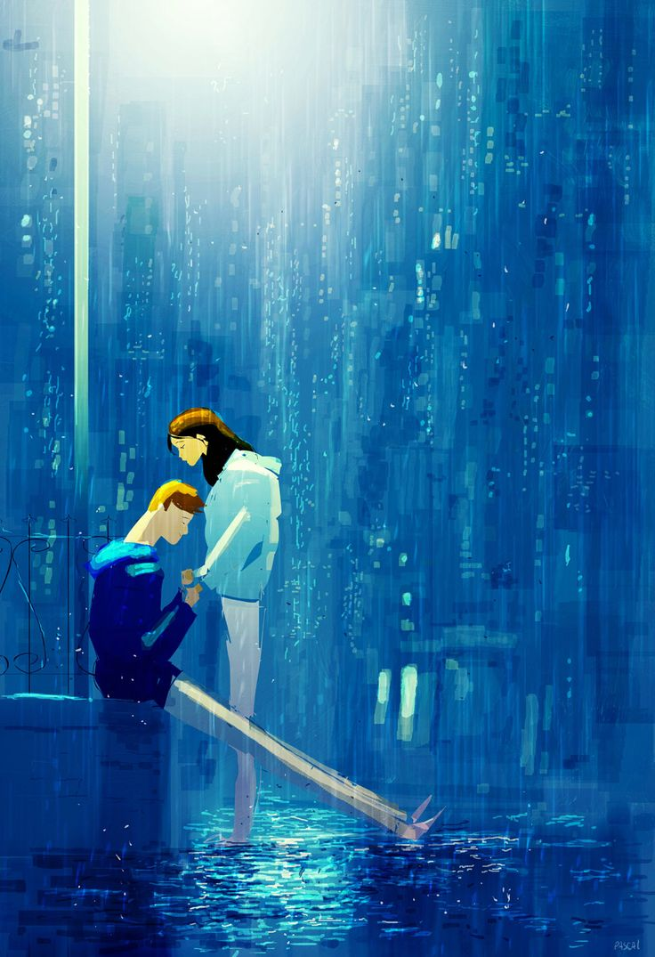 Time to say goodbye. by Pascal Campion B.j
