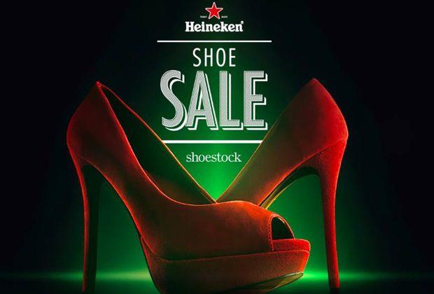 Heineken promove venda de sapatos durante a final da UEFA Champions League