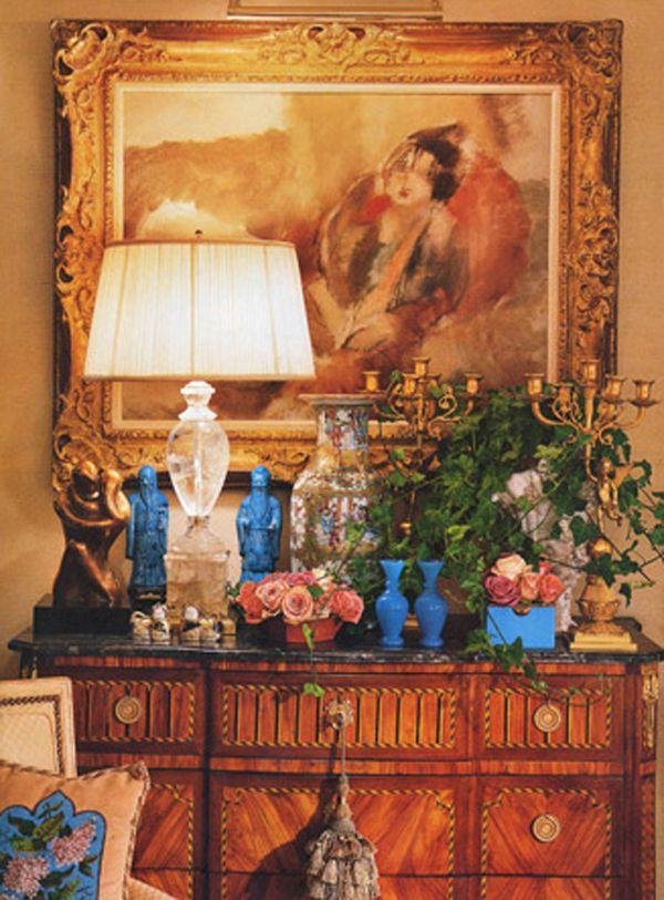 William R Eubanks Interior Design And Antiques Exquisite Spaces Living Rooms