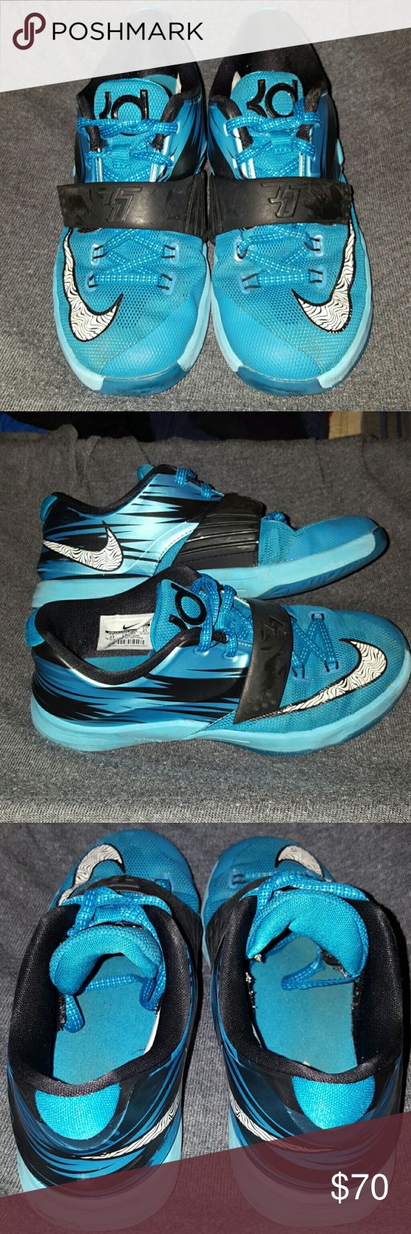 kevin durant all shoes kids nike shox
