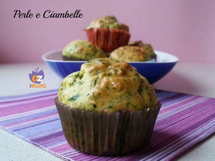 I muffin salati con spinaci e formaggio, golosi e facilissimi da preparare!!