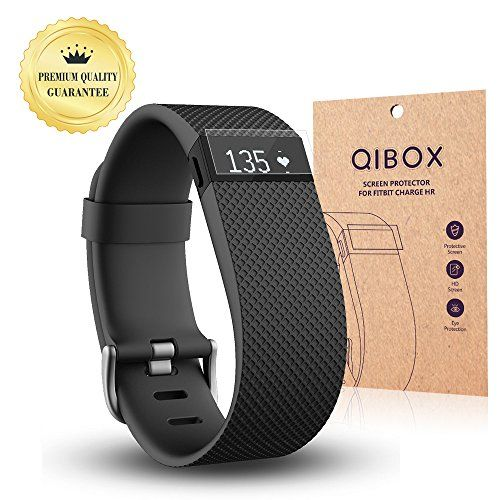 Fitbit Charge HR Screen Protector (10-Pack) - QIBOX Premium Clear Shatterproof Screen Protector for Fitbit Charge HR Wireless Activity Wristband, Anti-Fingerprint & Anti-Scratch Film Cover - http://darrenblogs.com/2016/01/fitbit-charge-hr-screen-protector-10-pack-qibox-premium-clear-shatterproof-screen-protector-for-fitbit-charge-hr-wireless-activity-wristband-anti-fingerprint-anti-scratch-film-cover/