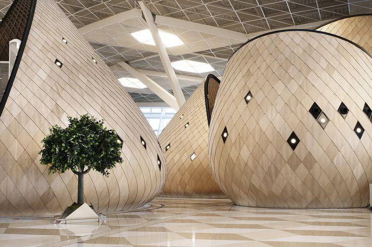 #frandgulo #bestoftheday #interiordesign #architecture #архитектура Терминал в международном аэропорту Гейдар Алиев в городе Баку